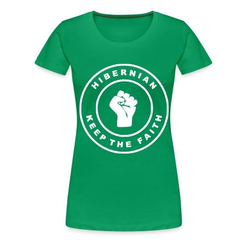 tee hibs ktf - Women's Premium T-Shirt