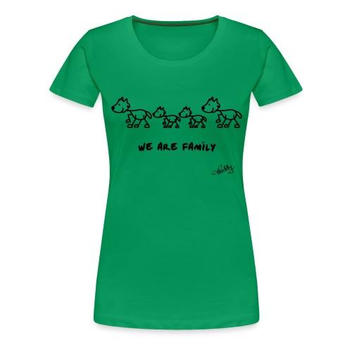 wearefamily - Frauen Premium T-Shirt