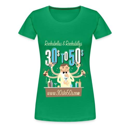 bartender2 png - Frauen Premium T-Shirt