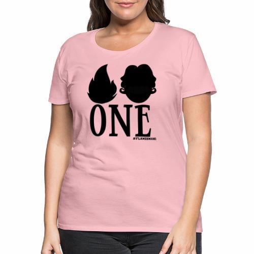 FLAMES-MAN-ONE-HD - Dame premium T-shirt