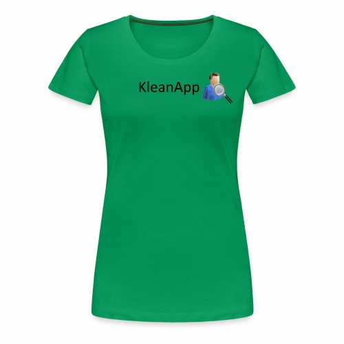 KleanApp Logo - Frauen Premium T-Shirt