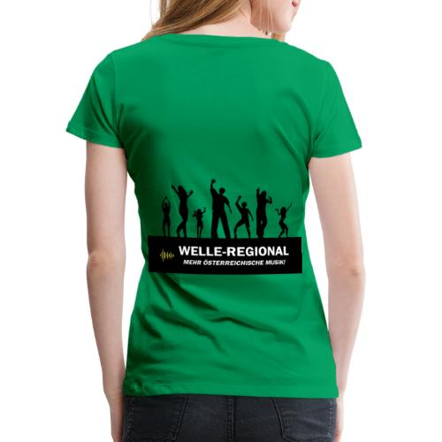 Welle Party - Frauen Premium T-Shirt