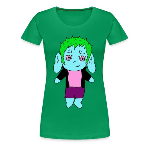 Chibi - Frauen Premium T-Shirt