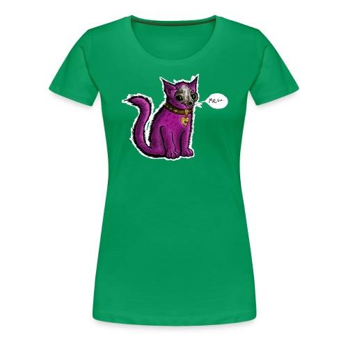 Grinning Wolf Designs logo - Women's Premium T-Shirt