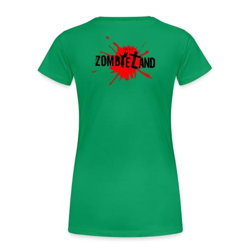 Zombieland Austria Logo Transperent png - Frauen Premium T-Shirt