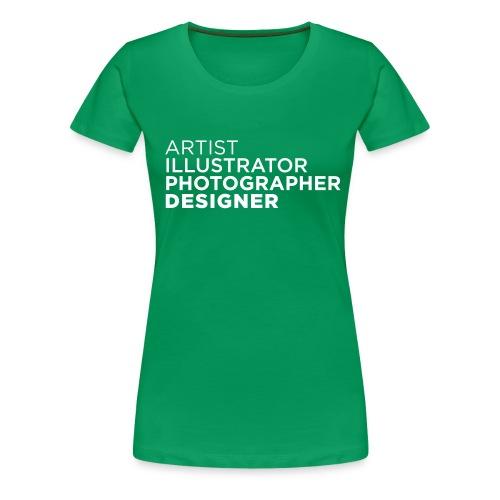artist - Frauen Premium T-Shirt