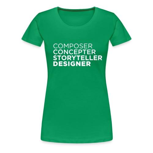 composer - Frauen Premium T-Shirt
