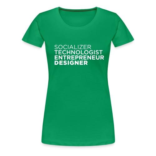 socializer - Frauen Premium T-Shirt