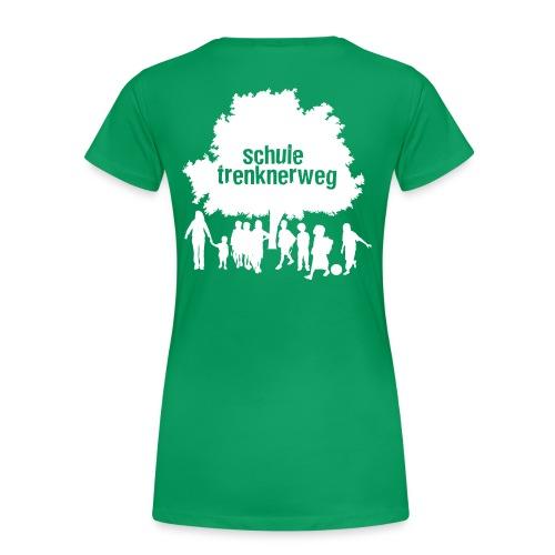 logo trenknerweg sw 2 - Frauen Premium T-Shirt