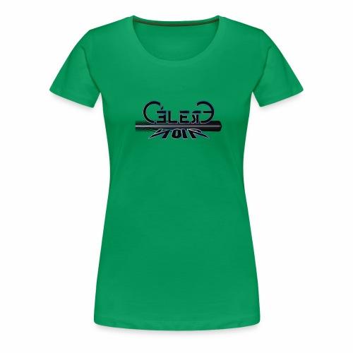 celeste noir incl strahl - Frauen Premium T-Shirt