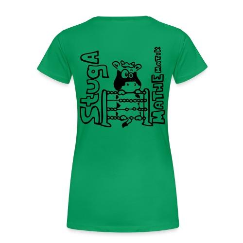 StugA Mathe Logo - Frauen Premium T-Shirt