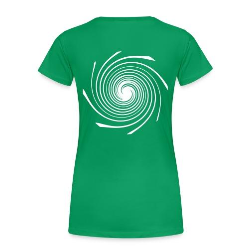 FASKA Spirale ws - Frauen Premium T-Shirt