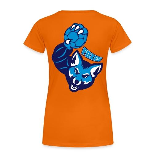 Foxes handball - T-shirt Premium Femme
