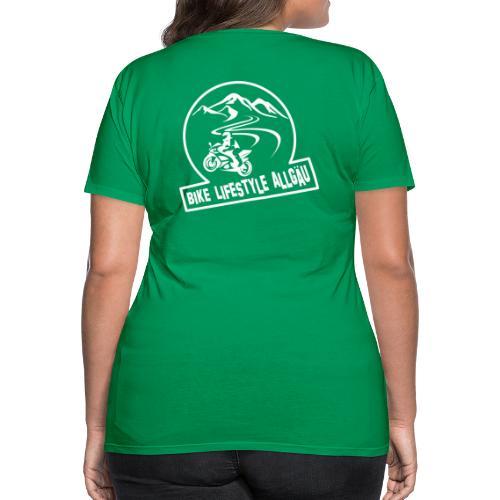 Logo - Weiß - Frauen Premium T-Shirt
