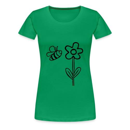 blume2 - Frauen Premium T-Shirt