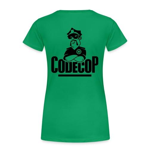 c0d3c0p Basis - Women's Premium T-Shirt