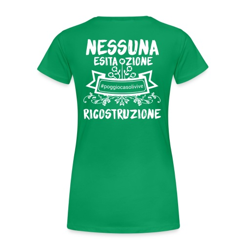 patch ricostruzione Poggio Casoli - Maglietta Premium da donna