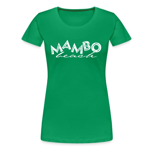 logo mambo blauw los eps orgineel - Vrouwen Premium T-shirt