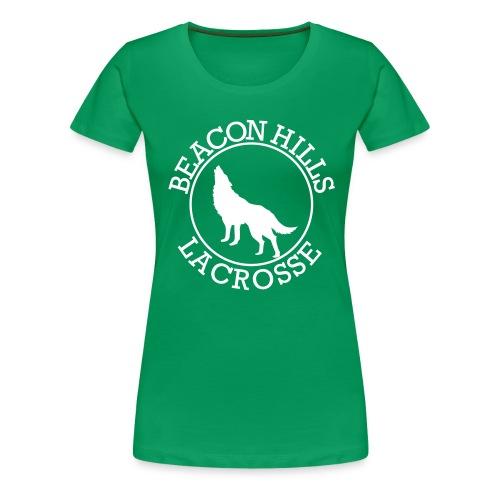 BEACONS HILL LACROSSE Logo - Women's Premium T-Shirt