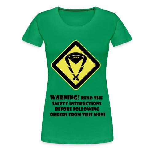 front tshirt2 - Vrouwen Premium T-shirt