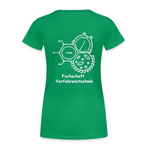 vtlogo schwarz3comic - Frauen Premium T-Shirt