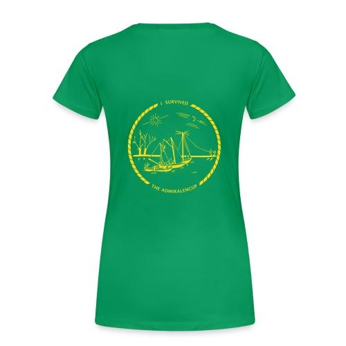 Admiralencup logo4 - Vrouwen Premium T-shirt