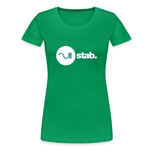 stablogotransparant4000 - Vrouwen Premium T-shirt