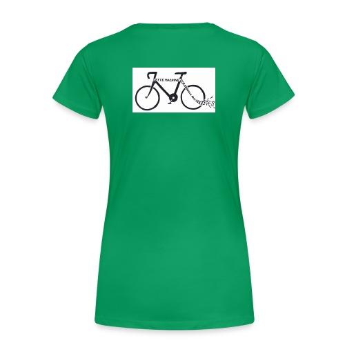 Machine_écrabouille_sexistes - T-shirt Premium Femme
