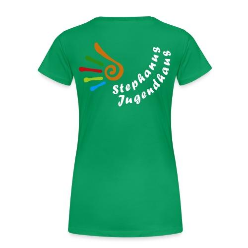 Logo_weisse_Schrift - Frauen Premium T-Shirt