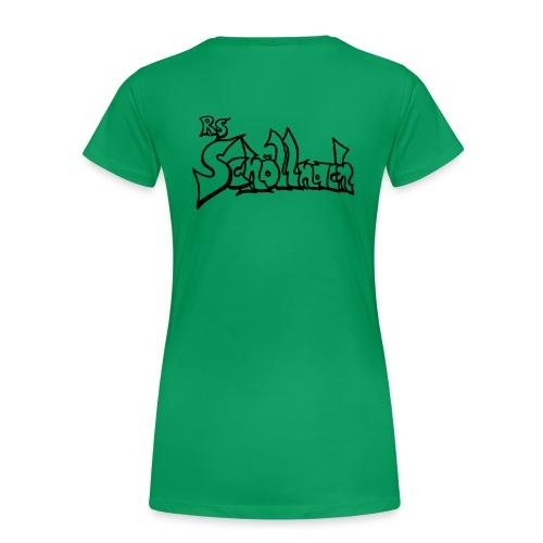 logo_schwarz - Frauen Premium T-Shirt