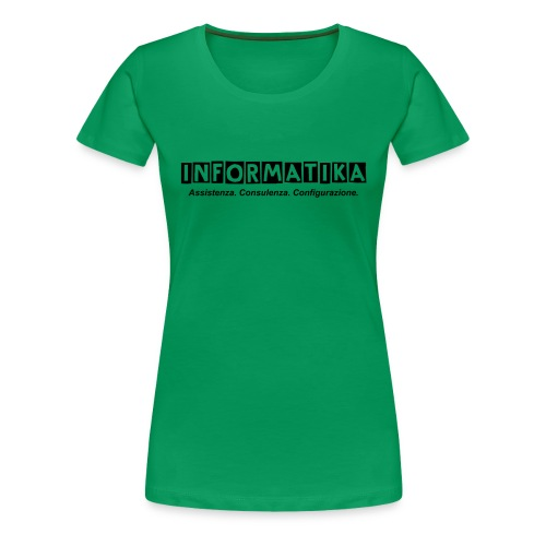 Maglietta Premium da donna informatik@ - Maglietta Premium da donna