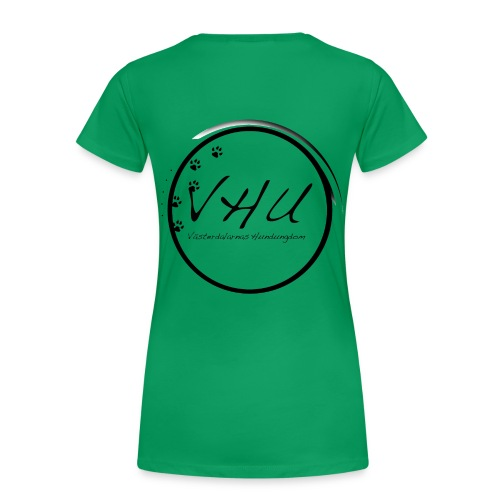 vhu2013 kopia gif - Premium-T-shirt dam