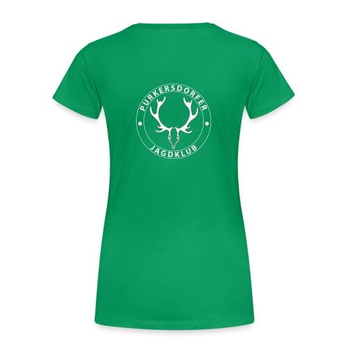 pjk logo weiss png - Frauen Premium T-Shirt