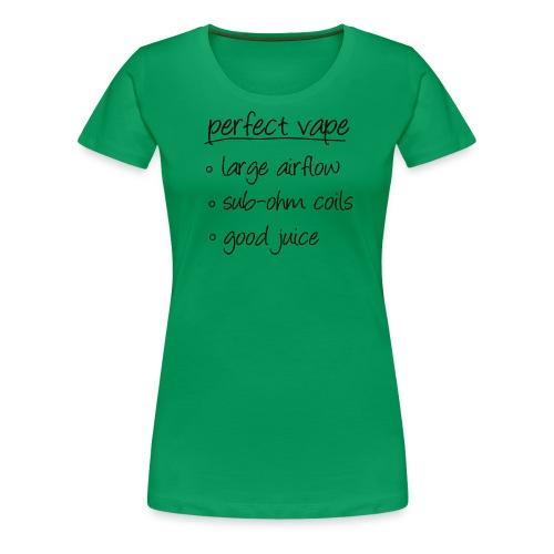 TShirt perfectvape 1 png - T-shirt Premium Femme