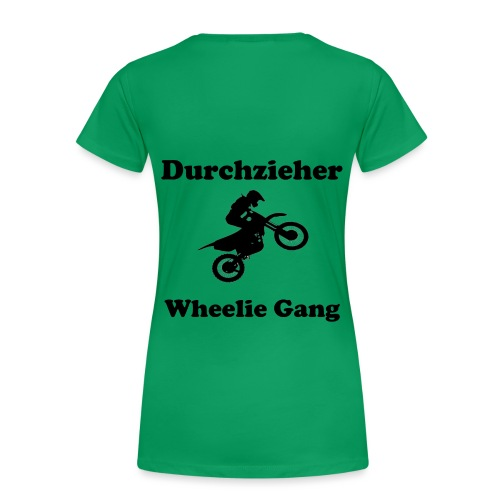 Whellie Gang - Frauen Premium T-Shirt