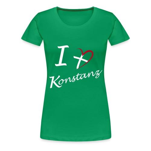 Konstanz Liebe - Frauen Premium T-Shirt