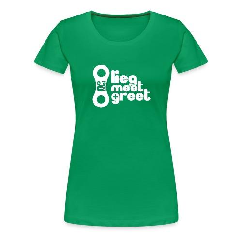 ärmel_date_pfade - Frauen Premium T-Shirt