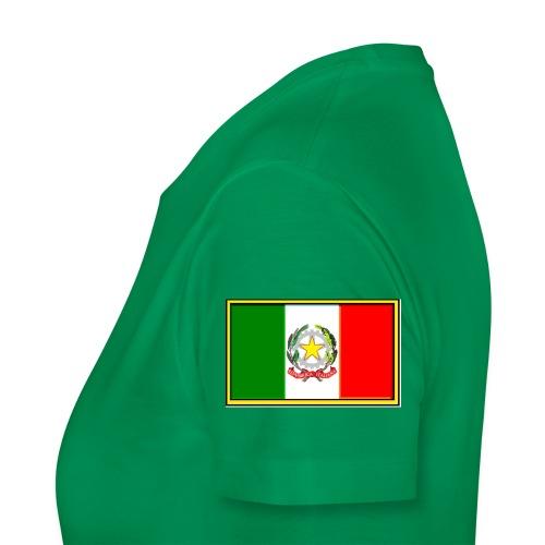 Bandiera Italiana - Maglietta Premium da donna