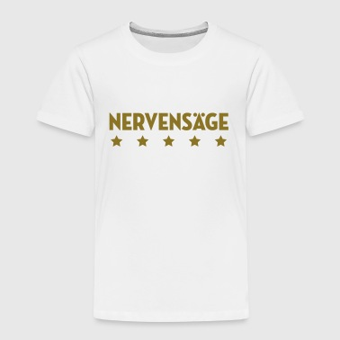 Nervensäge Arschloch Arschlochin Idiot Vulgär Dumm - Kinder Premium T-Shirt