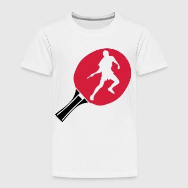 schlaeger tischtennis spiele - Kinder Premium T-Shirt