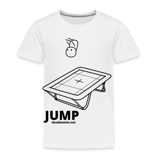 Trampoline JUMP shirt white - Kids' Premium T-Shirt