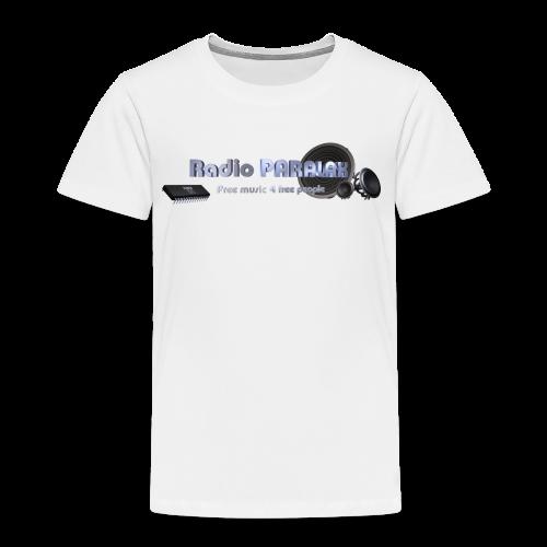 Radio PARALAX Facebook-Logo - Kinder Premium T-Shirt