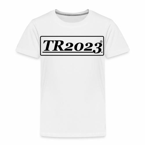 TR2023 #TR2023 schwarz - Kinder Premium T-Shirt