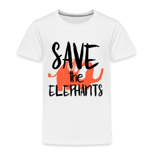 Save the Elephants - Kids' Premium T-Shirt