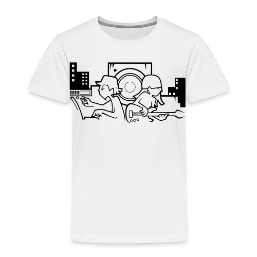 Raw Material Boy and Girl - Kids' Premium T-Shirt