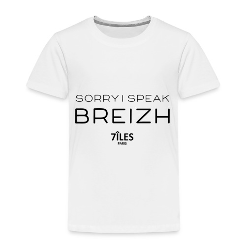SORRY I SPEAK BREIZH (7ÎLES) - T-shirt Premium Enfant