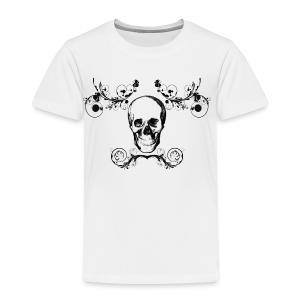 Arabesque Skull - T-shirt Premium Enfant