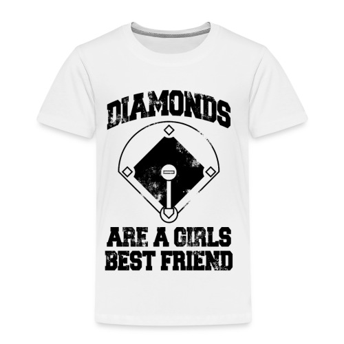 Diamonds Are A Girl's Best friend - Kids' Premium T-Shirt