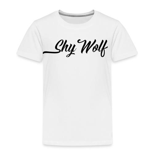 ShyWolf Logo - Premium T-skjorte for barn