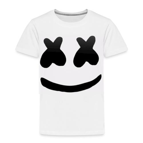Marshmello face logo - Premium-T-shirt barn